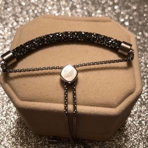 Swarovski Bolo Bracelet in Black